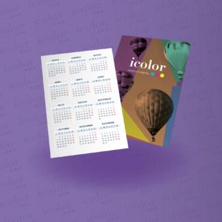 Calendario de Bolsillo