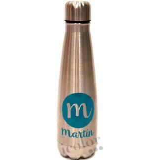 botella personalizada nombre