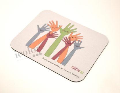 alfombrilla solidaria manos